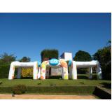 stand inflável para eventos para eventos em Jaçanã