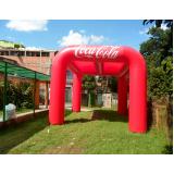 stand inflável para festas para eventos em Jundiaí