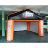 stand inflável para festas para propaganda em Guianazes
