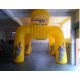stands infláveis promocionais para eventos em Santana