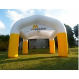 tenda inflável em sp para eventos em Araraquara