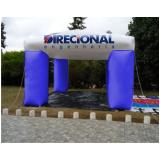 tenda inflável promocional para propaganda em Limeira