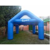 tendas infláveis coloridas para eventos em Santa Isabel