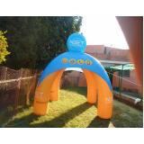 tendas infláveis para eventos para propaganda em Rio Claro