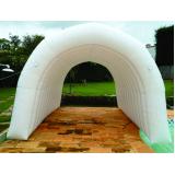 túneis infláveis para ações especiais na Cidade Ademar