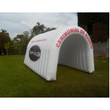 túneis infláveis para feiras promocionais em Franca