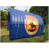túnel inflável para estacionamento em Valinhos