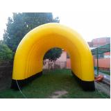 túnel inflável para eventos preço em Marapoama