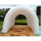 túnel inflável para feiras promocionais no Jardim São Luiz