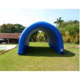 túnel inflável para marketing preço no Aeroporto