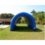 túnel inflável personalizado para empresa preço em Biritiba Mirim