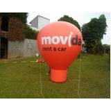 venda de balão inflável para eventos no Itaim Paulista