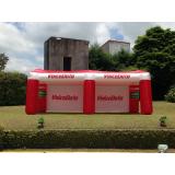 venda de inflável promocional para concessionária no Tremembé