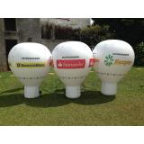 venda de inflável promocional para evento corporativo em Belém