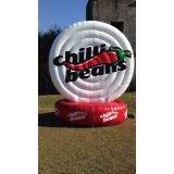 venda de inflável promocional para eventos em Goiânia