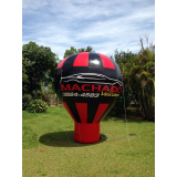 venda de inflável promocional para feira em Franco da Rocha