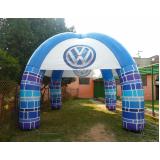 vendas de tenda inflável no Grajau