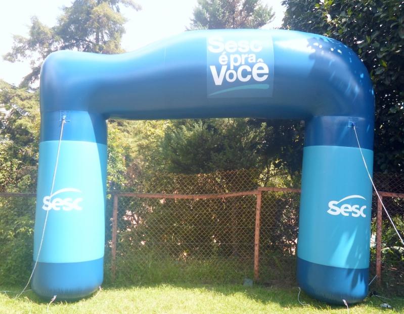 Venda de Pórticos Infláveis em São Carlos - Portais Infláveis para Eventos
